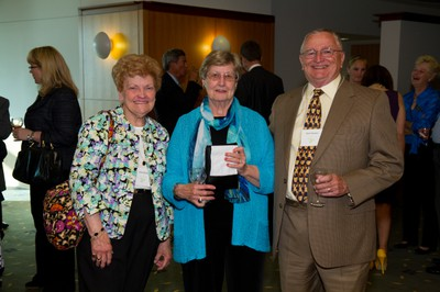 Donors enjoying themselves at the annual Leadership Dinner