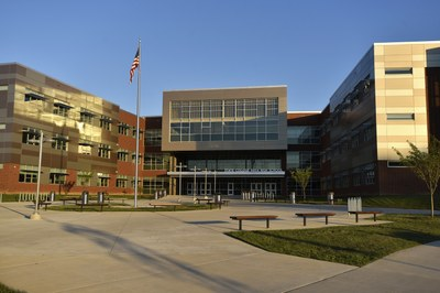 A picture of the new state college area high school.